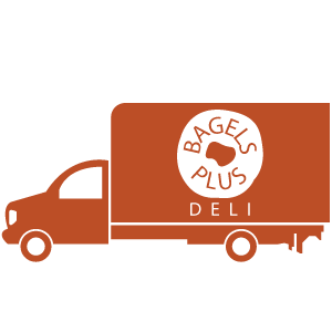 Delicious Bagels and Cream Cheeses delivered to your event